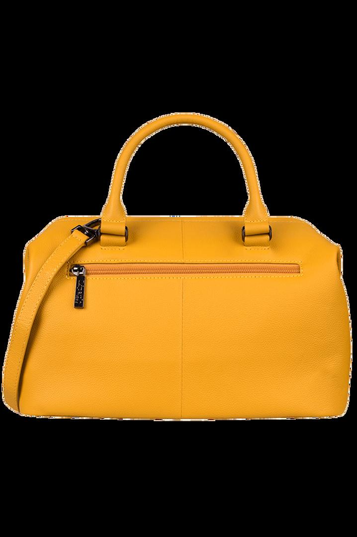 Plume Elegance Bowlingtasche Mustard   3