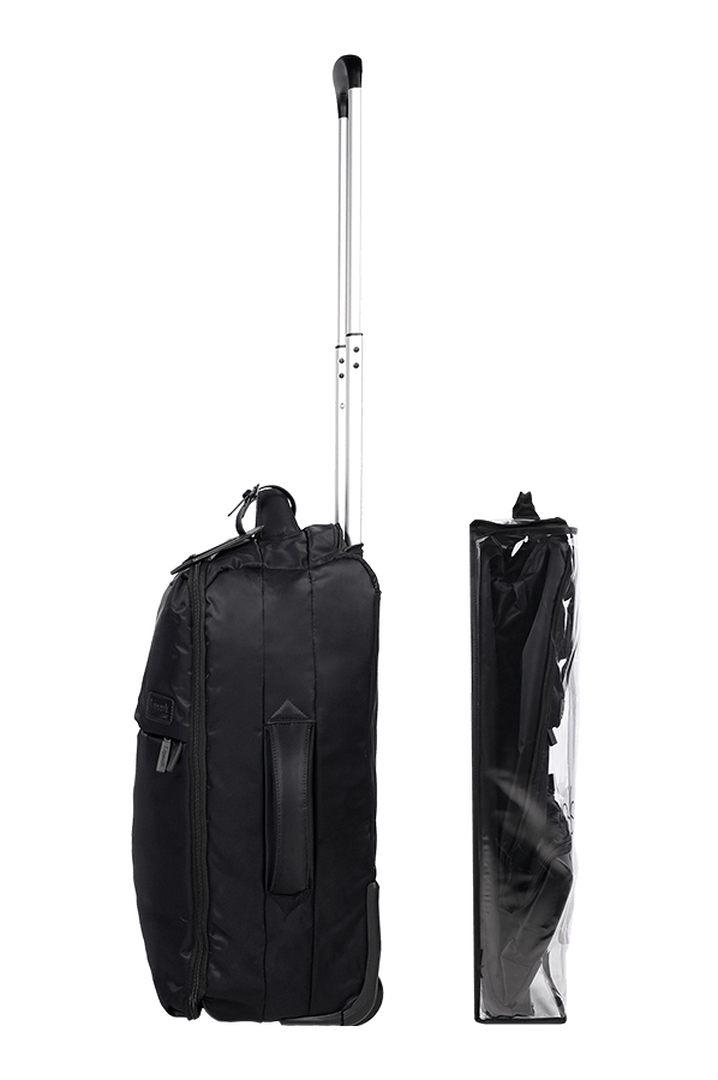 Pliable Trolley mit 2 Rollen 55cm Black | 3