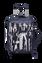 Izak Zenou Collab Valise 4 roues 55cm Pose/Night Blue