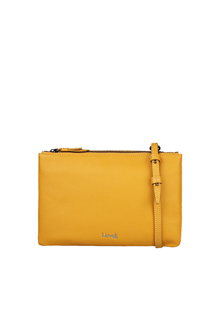 c56ad29c9ae4e Lipault Plume Elegance Multi Pouch Bag Mustard